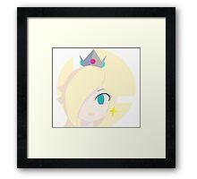 Super Smash Bros. : Rosalina Framed Print
