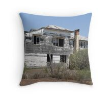gone left empty Throw Pillow