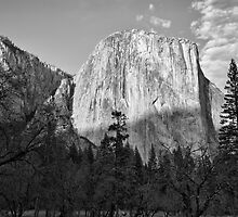Sun Setting on El Capitan - Yosemite National Park by Gregory Ballos | gregoryballosphoto.com