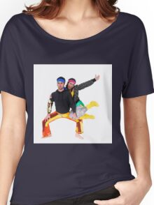Balance - two acrobats balancing on each other Women's Relaxed Fit T-Shirt