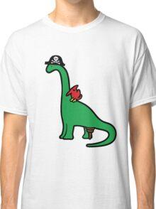 Pirate Dinosaur - Brachiosaurus Classic T-Shirt
