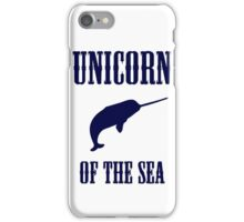 Narwhals: Unicorn of the Sea iPhone Case/Skin