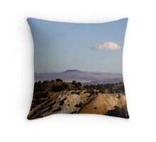 """Mine Tailings"" Throw Pillow"
