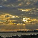 Sunbeams over the Hornibrook by Sea-Change