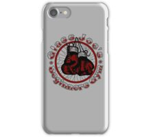 Glass Joe's Gym iPhone Case/Skin