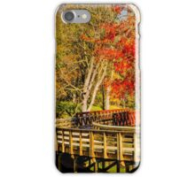 Walking Into Autumn iPhone Case/Skin