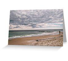 The Peaceful Beach At Ocean Grove NJ Greeting Card
