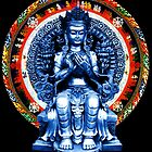 Maitreya in Blue Mandala by AnimiDawn