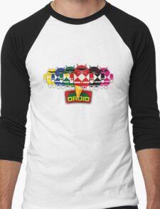 BugDroid Rangers Men's Baseball ¾ T-Shirt