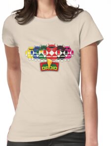 BugDroid Rangers Womens Fitted T-Shirt