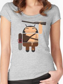 Army of Darkness BugDroid Women's Fitted Scoop T-Shirt