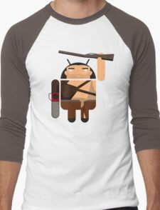 Army of Darkness BugDroid Men's Baseball ¾ T-Shirt