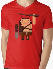 Army of Darkness BugDroid Mens V-Neck T-Shirt