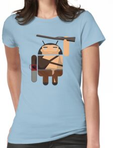 Army of Darkness BugDroid Womens Fitted T-Shirt