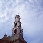 Our Lady of Pompeii - Bell Tower - Greenwich Village, New York City by SylviaS