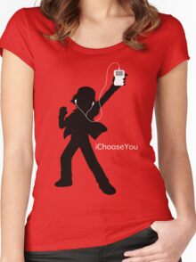 iChooseYou Women's Fitted Scoop T-Shirt