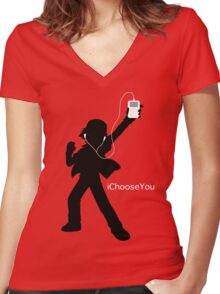 iChooseYou Women's Fitted V-Neck T-Shirt