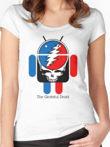 The Grateful Droid Women's Fitted Scoop T-Shirt