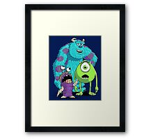 Monsters, Inc. Framed Print