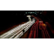 Highway Motion Photographic Print