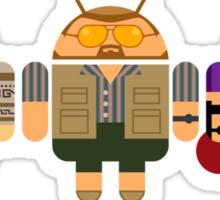 Lebowski BugDroids Sticker