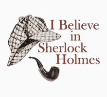 I Believe in Sherlock Holmes One Piece - Long Sleeve
