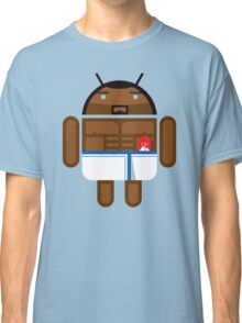 Old Spice Guy BugDroid Classic T-Shirt