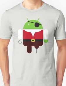 Pirate BugDroid Unisex T-Shirt