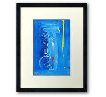 Blue Baptism 2010 Framed Print