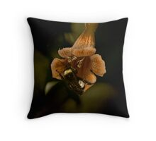 Bumble & Flower Throw Pillow