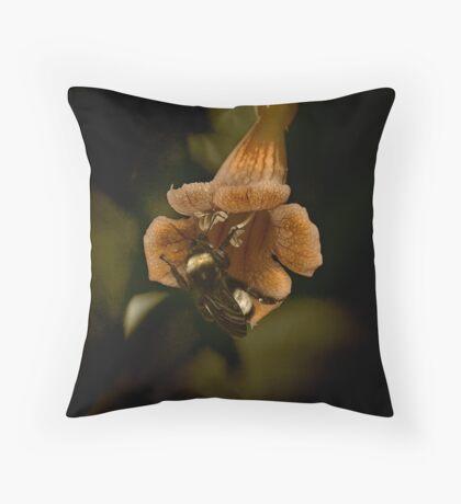 Bumble & Flower Throw Pillow