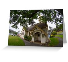 Kingston Anglican Church - on our way to Snug today Greeting Card