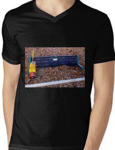 Brighton Buried Bench Mens V-Neck T-Shirt