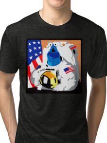 Yip Yip Alien NASA Astronaut T-Shirt Tri-blend T-Shirt