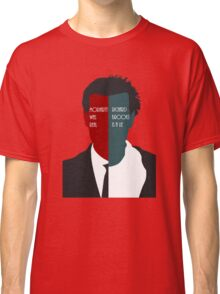 Moriarty Was Real; Richard Brooks Was A Lie Classic T-Shirt