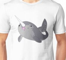 Happy Little Narwhal Unisex T-Shirt