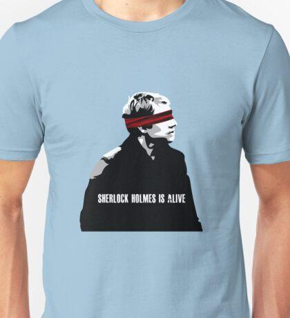 SHERLOCK HOLMES IS ALIVE Unisex T-Shirt