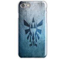Zelda triforce damaged iPhone Case/Skin