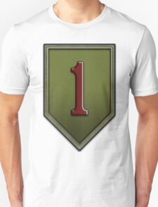 The Big Red One Insignia Unisex T-Shirt