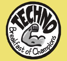 Techno - Breakfast of Champions Kids Clothes