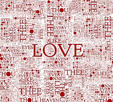 Shakespeare's Love Words by Sally McLean