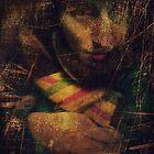 """Girl Driving"" Badly damaged painting by Tamara de Lempicka ;D by Elorac"