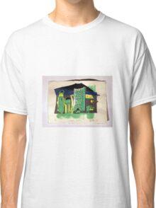 Calgary Skyline, Screenprint. Classic T-Shirt