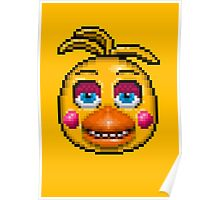 Five Nights at Freddy's 2 - Pixel art - Toy Chica Poster
