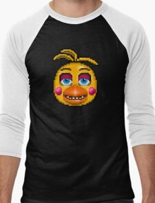 Five Nights at Freddy's 2 - Pixel art - Toy Chica Men's Baseball ¾ T-Shirt