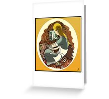 """""""W. Rabbit"""" Part one Greeting Card"""