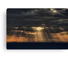 Sunbeams in the Storm Canvas Print