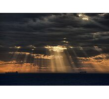 Sunbeams in the Storm Photographic Print