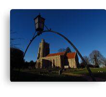 St Edmunds Church, Assington Canvas Print