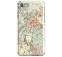 Vintage Map of Europe (1911) iPhone Case/Skin